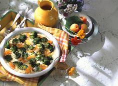 Brokkoli-Gratin mit Aprikosen | Zeit: 50 Min. | http://eatsmarter.de/rezepte/brokkoli-gratin-mit-aprikosen