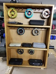 Fly Rod and Reel Storage Shelf : 9 Steps (with Pictures) - Instructables Flyfishing is Fishing Rod Storage, Fly Fishing Rods, Fly Rods, Fishing Bait, Trout Fishing, Fishing Reels, Fishing Tips, Carp Fishing, Ice Fishing