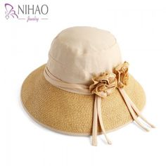 Item Type: Sun HatsBrand Name: PtahGender: WomenDepartment Name: AdultMaterial: Straw,PolyesterPattern Type: FloralStyle: CasualModel Number: To Gend Jewelry Supplies, Jewelry Stores, Cotton Hat, Affordable Jewelry, Wholesale Jewelry, Sun Hats, Beige, Products, Fashion
