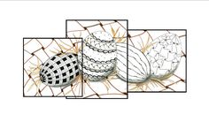 Zentangle - Time To Tangle: Happy Easter!