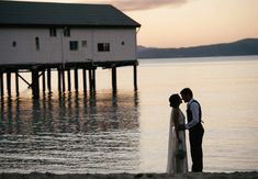 Port Douglas Sugar Wharf Wedding photograph. Dani and Colby taking a moment together behind the Sugar Wharf in Port Douglas. www.shaunguestphotography.com.au