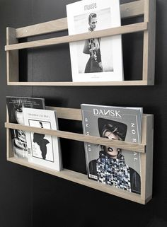 design trade Fair -bloggers Zone | vega magazine rack in oak by foxy-potato.dk…