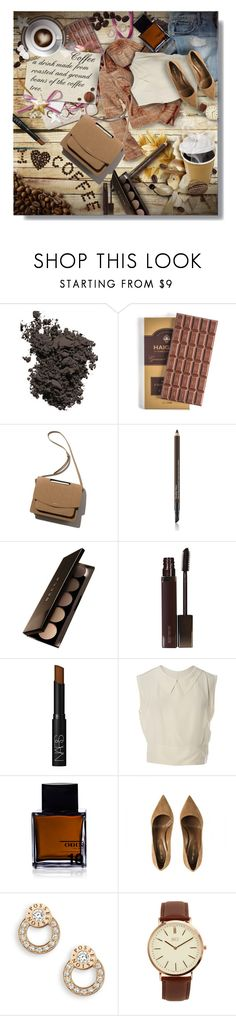 """I Love Coffee!"" by sarahguo ❤ liked on Polyvore featuring Laura Mercier, Gap, Estée Lauder, Becca, NARS Cosmetics, Chanel, Odin, Piaget and BKE"