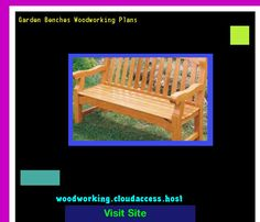 Garden Benches Woodworking Plans 081643 - Woodworking Plans and Projects!