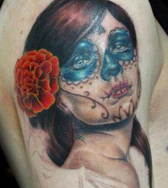 Sugar Skull Tattoos - Tattoos.net