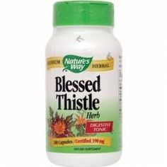 Blessed Thistle has traditionally been used in European tonics for digestion and feminine health. privaterx.com
