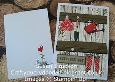Stampin' Up! UK Independent Demonstrator Susan Simpson, Craftyduckydoodah!, Gifts from the Garden, Supplies available 24/7,