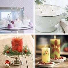 Cool Christmas Candles Decoration Ideas  - Christmas Candles Decoration