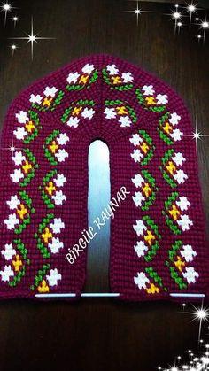Tunisian Crochet Stitches, Crochet Slippers, Knitting Socks, Diy And Crafts, Crochet Patterns, Beanie, Nanjing, Flowers, Knit Mittens
