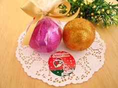 Sabonete Esfera Natalina  100% artesanal