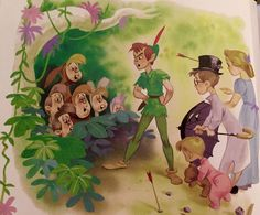Disney's Peter Pan, illustrations by Al Dempster