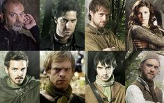 But when a young lady is to be a heroine: Series Review; Robin Hood (BBC TV) Series 1