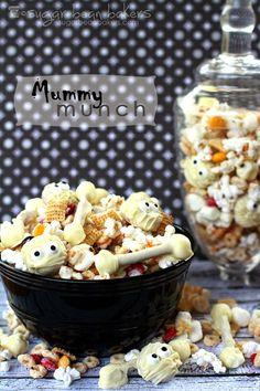Sugar Bean Bakers: { Mummy Munch Party Mix }