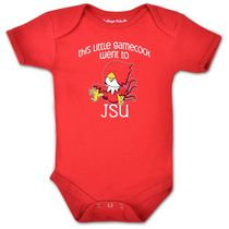"""This Little Gamecock Went To JSU"" Baby Onesie"
