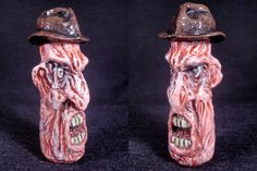 Movie Monster Chillums Nightmare On Elm Street by ZoomBiez on Etsy, $50.00