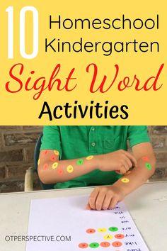 Visual Motor Activities, Fine Motor Activities For Kids, Preschool Activities, Kids Learning Games, Fine Motor Activity, Visual Perceptual Activities, Preschool Sight Words, Learning Sight Words, Kindergarten Readiness