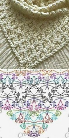 up-to-date Totally Free Crochet poncho dress Suggestions Der Neuen : Chinese Japanse linten – The Collection 1 – Modnoe Vyazanie Crochet Shawl Free, Crochet Diagram, Crochet Chart, Crochet Scarves, Crochet Motif, Crochet Lace, Crochet Doilies, Crochet Vests, Knitting Scarves