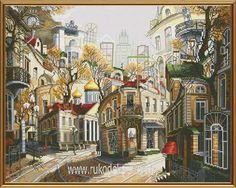 Набор для вышивания нитками Новая Слобода Легенды старых улиц РЕ2337