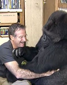 Robin Williams touched the lives of both humans and animals. Koko, a female gorilla — who once formed a bond with the actor — mourned the loss of Williams like so many others this week. Watch the heart-wrenching video here.