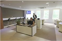 7 Hanover Square Serviced Office Space London W1 - Reception Area
