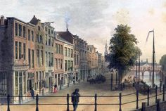 Botermarkt Leiden rond 1900