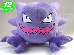 Yes please!! ~~~ Pokemon Haunter Plush \Don't be afraid - our Haunter toys are perfectly friendly! The cheeky ghost Pokemon is always one of our top sellers, thanks to its unique shape and big grin. - Plush is approx 30 cm / 12 inches tall. - Brand new with tags. - Ages 6 & up.