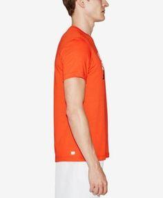 Lacoste Men's Graphic Print Logo T-Shirt - France Multi 4XL