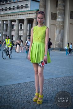 Street Style Berlin Fashion Week Blogger Streetstyle