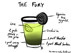 The Fury... Guaranteed to get you at least half blind... I'm going to hell