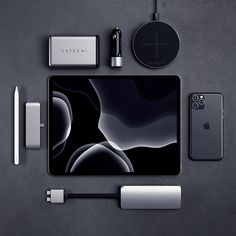 Space gray is the way tech accessories giftidea apple ipad iphone 12 things you should know if you just got apple airpods Technology Gadgets, New Technology, Energy Technology, Technology Design, Android Technology, Technology Wallpaper, Ipad Pro, Apple Watch, My Little Beauty
