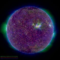 Each and every day NASA's Solar Dynamics Observatory (SDO) observes our Sun and relays observational data to scientists on Earth in an effort to understand the causes of solar variability and its impacts on Earth. This image of the Sun was taken on May 15, 2018.
