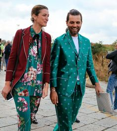 Not just for Christmas! Channel two superstars of fashion and wear red and green all year long.