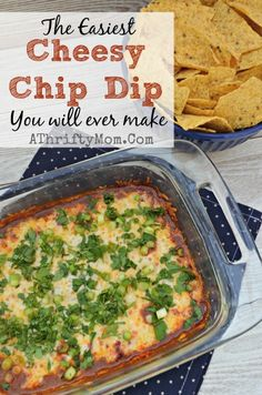Cheesy Chip Dip Reci
