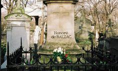 1799-1850 Honoré de Balzac Escritor francés Localización de la tumba: Cementerio de Père-Lachaise