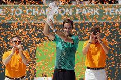 DIRETTA TENNIS - Lo svizzero Roger Federer sempre più nella storia. A quasi 36 anni di età ha vinto gli Open di Miami battendo in finale l'eterno rivale, R