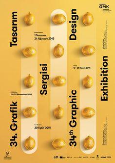 Umut Südüak- 34th Graphic Design Exhibiton by GMK (Grafikerler Meslek Kuruluşu)