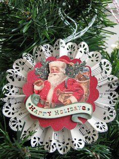 Rosette Ornaments by averys_mom