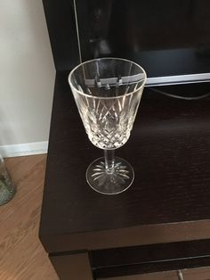 Vintage Set of 6 (SIX) Waterford Crystal Lismore Pattern WATER GOBLETS (1970's Handmade in the Republic of Ireland) by AWETHECARY on Etsy