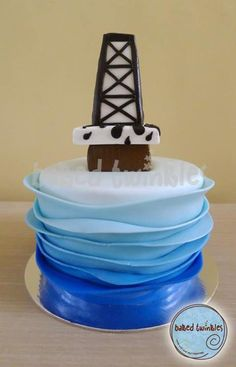 1000 Images About Oil Rig Cakes On Pinterest Oil Rig