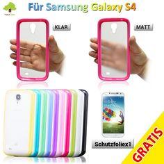 Schutz cover Bumper Handy Hülle Case Schale Etui für Samsung Galaxy S4 i9500