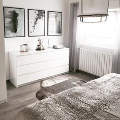 Gefllt Mal, 4 Kommentare - Alexandra (homeandinteriorbyalexandra) auf Slow weekend mode * Outside snow and inside coziness * Bedroom Design Inspiration, Bedroom Inspo, Home Bedroom, Bedroom Furniture, Bedroom Decor, Furniture Ideas, Bedrooms, Ikea Bedroom Design, Interior Design Living Room