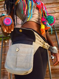 Pixie Pockets  One size canvas utility belt in by manakahandmade, £25.00
