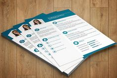 Resume Template  One page Resume  Cv Template  by sisresume