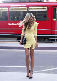ne-do-i-aşınma: Elbise - Joa + Closet, Vintage Çanta - Chanel, Topuklar - Zara (resim: thenativefox)