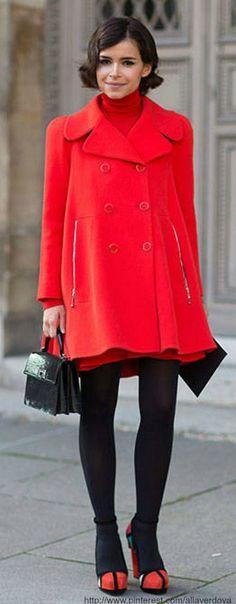 Paris street style - Miroslava Duma