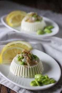 Panna cotta salata, cucina con sara