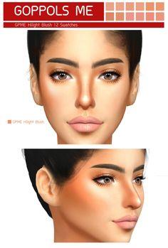Hilight Blush at GOPPOLS Me • Sims 4 Updates