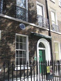 Dom sławnego londyńskiego pisarza Dickensa