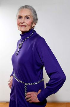 Rosie's Photo Blog: Daphne Selfe: Britain's oldest model