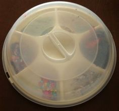 collage tray lid on